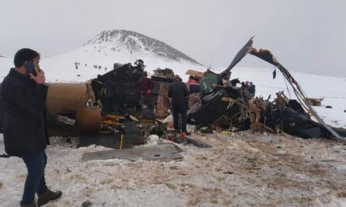 Bitlis'te helikopter kazası! 10 şehit…