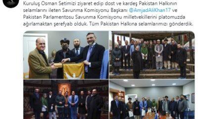 Kuruluş Osman dizisine sürpriz Pakistan ziyareti