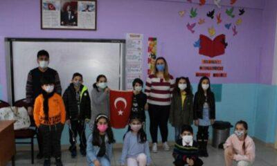 Öğrencilerden Mehmetçiği duygulandıran proje