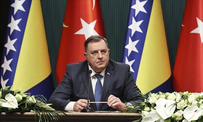 Dodik TürkAkım'ın Bosna Hersek'e ulaştırılmasıyla ilgilendiklerini söyledi