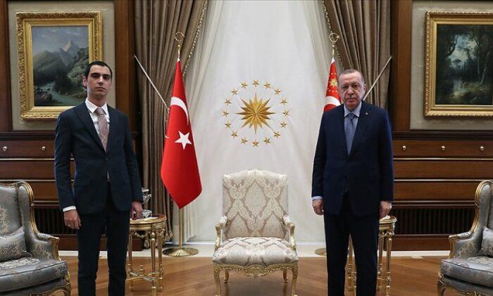 Cumhurbaşkanı Erdoğan, Muhsin Yazıcıoğlu'nun oğlu'nu kabul etti
