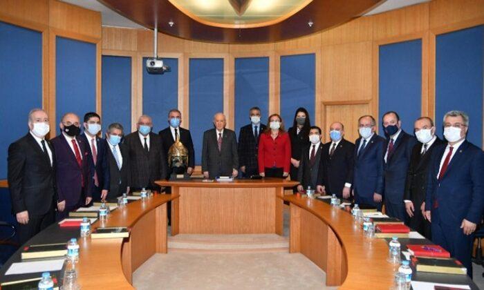 MHP Lideri Devlet Bahçeli başkanlığında Başkanlık Divanı Toplantısı yapıldı