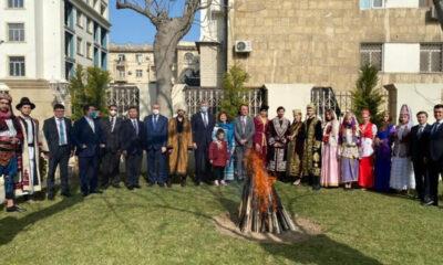 Bakü'de Nevruz Bayramı kutlandı