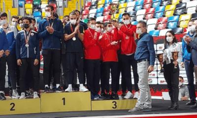 TAF Kupası Kulüpler Salon Atletim Yarışmaları'nda Fenerbahçe şampiyon oldu