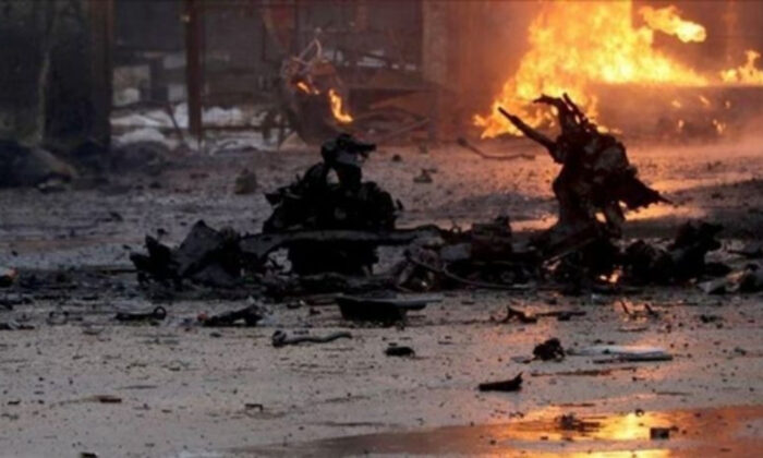Terör örgütü PKK/YPG'den alçak saldırı