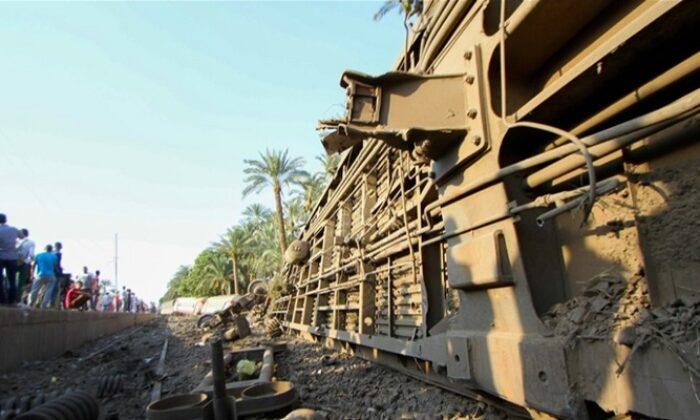 Mısır'da tren kazası: 32 ölü, onlarca yaralı