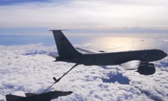 TSK'dan ABD'nin F-18 savaş uçaklarına yakıt ikmali