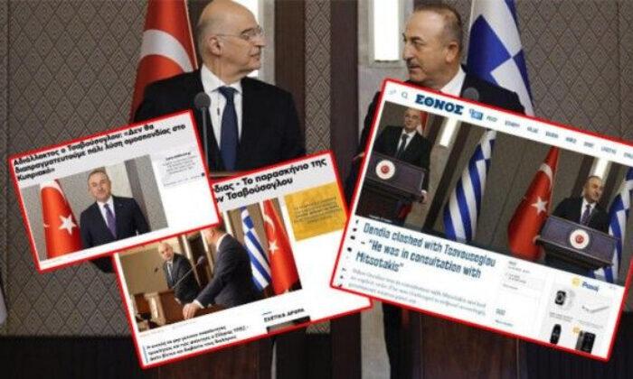 Çavuşoğlu Dendias'a cevabını vermişti! Yunan medyası bakın ne yazdı?