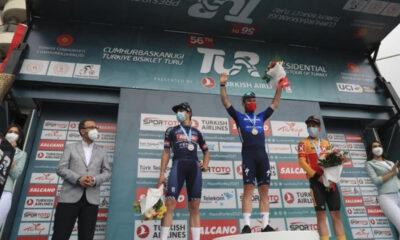 56. Cumhurbaşkanlığı Türkiye Bisiklet Turu'nda ödüller verildi