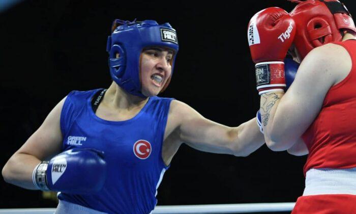 Dünya şampiyonu Milli boksör Büşra Işıldar