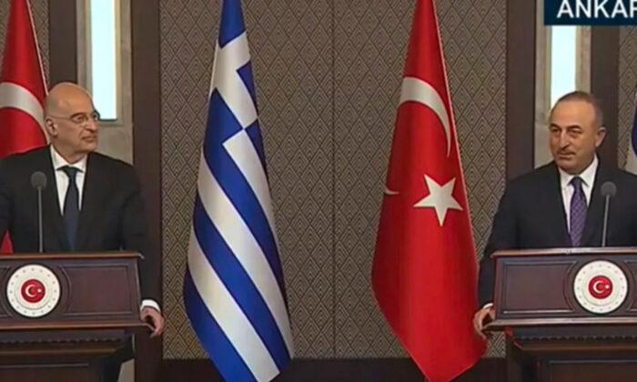 Çavuşoğlu'dan Yunan bakana canlı yayında sert cevap! Oldu bitti ve provokatif söylemlerden uzak durulmalıdır