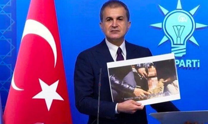 AK Parti Sözcüsü Çelik belgeleri bir bir gösterdi! Canlı yayında ifşa etti`