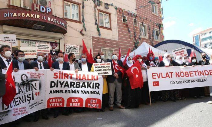 Diyarbakır annelerinden teröre lanet yürüyüşü