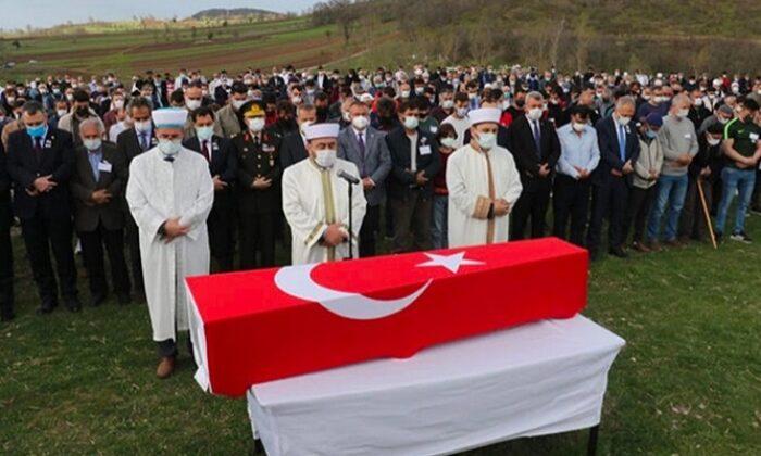 Şehit Uzman Onbaşı Hüsamettin Gökçe, Amasya'da son yolculuğuna uğurlandı