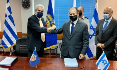 Yunanistan ile İsrail arasında anlaşma