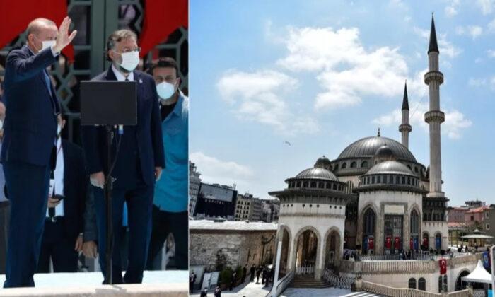 Cumhurbaşkanı Erdoğan: Taksim Camii İstanbul'un fethine de bir hediyedir…