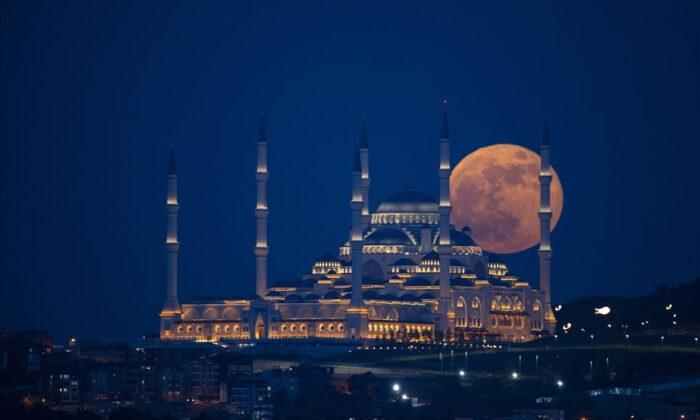 Süper Ay Türkiye'de görsel şölen oluşturdu