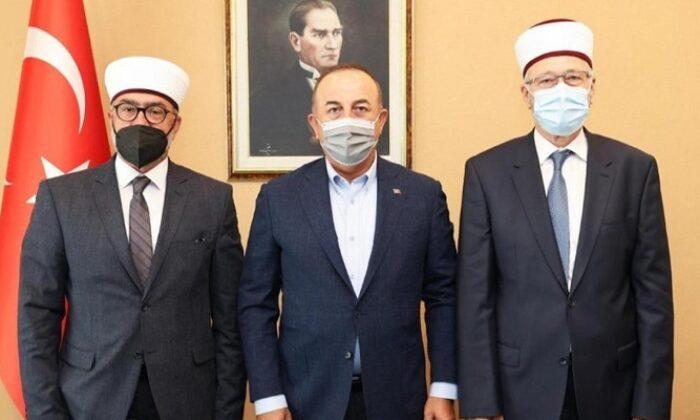 Bakan Çavuşoğlu, Batı Trakya'daki Türk müftülerle görüştü