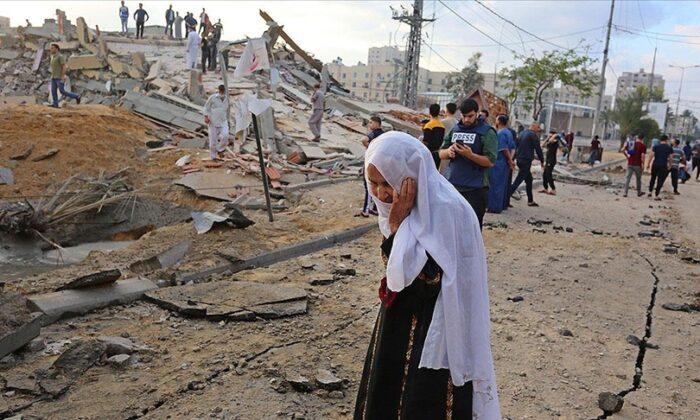 İsrail'in Gazze'ye düzenlediği saldırılarda şehit sayısı 83'e yükseldi
