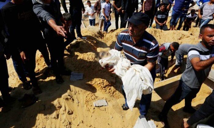 İsrail'in saldırılarında 34 çocuk şehit edildi