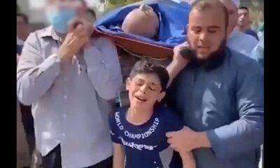 Filistinli çocuğun feryadı yürekleri dağladı