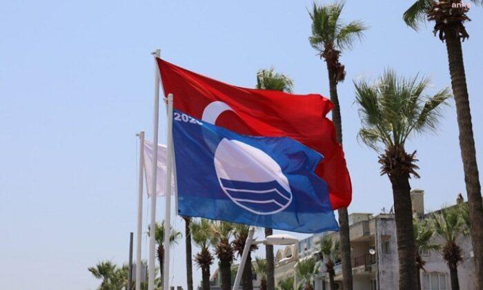 Marmaris'te mavi bayraklı plaj sayısı 24 oldu