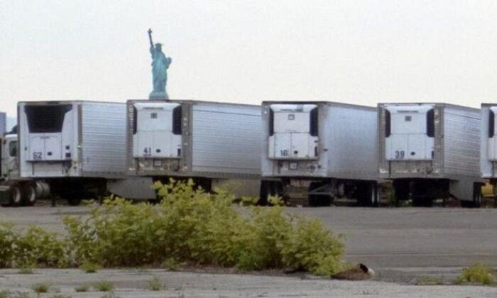 ABD'de koronavirüsten ölenler hala kamyon kasalarında tutuluyor