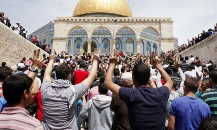 İsrail polisinden Kudüs'te Filistinlilere saldırı
