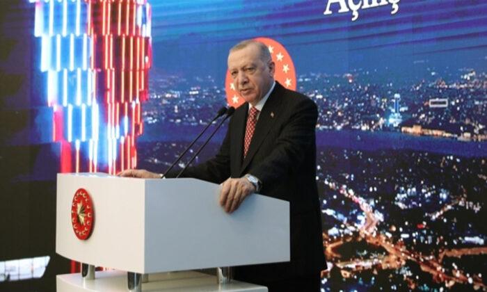 Cumhurbaşkanı Erdoğan: Dünyaya örnek teşkil edecek proje oldu