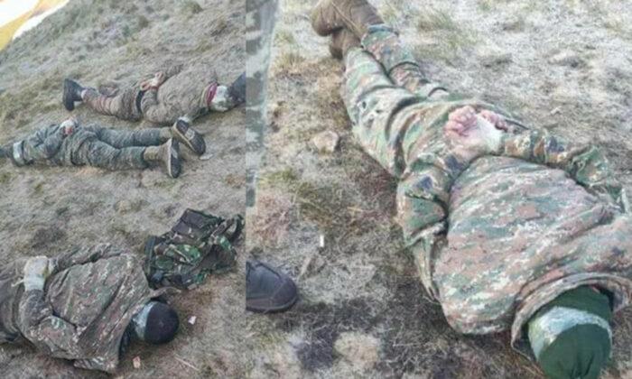 Ermenistan askerleri suçüstü yakalandı