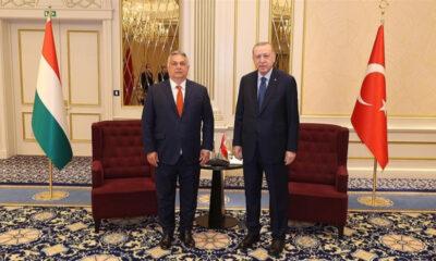 Cumhurbaşkanı Erdoğan ile Macaristan Başbakanı Orban görüştü