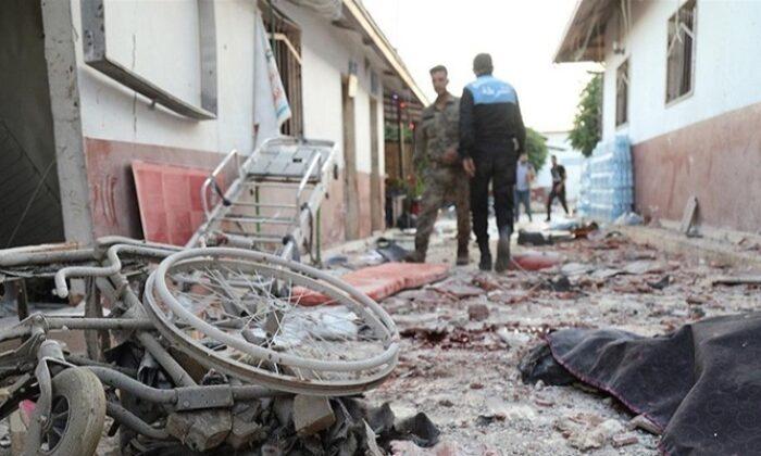 Bebek Katili YPG/PKK Afrin'de hastanede tedavi gören sivillere saldırdı! Çok sayıda ölü ve yaralı
