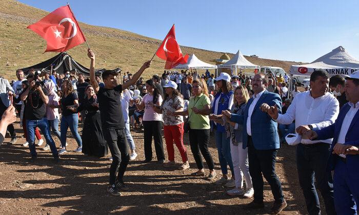 Şırnaklılar terörden temizlenen Cudi Dağı'nın Sefine bölgesinde 40 yıl sonra festival heyecanı yaşadı