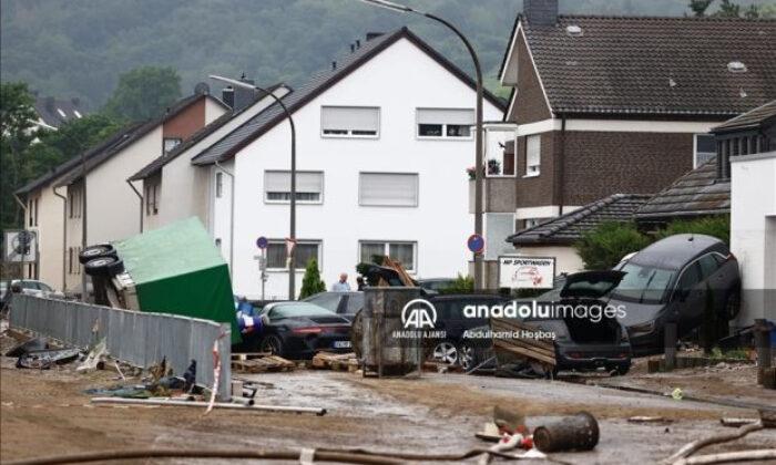 Almanya'da bilanço ağırlaşıyor: Ölenlerin sayısı 176'ya yükseldi