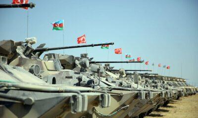Türkiye ve Azerbaycan'ın 'Mustafa Kemal Atatürk 2021' tatbikatı sona erdi