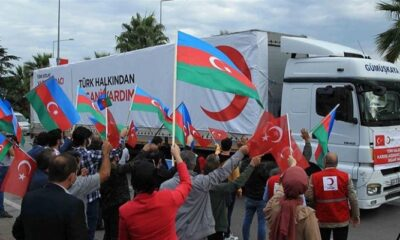 Türkiye'den Azerbaycan'a kurban yardımı