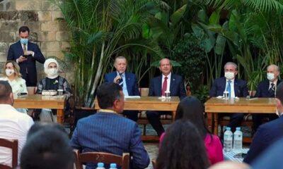 Cumhurbaşkanı Erdoğan KKTC'de gençlerle buluştu! 'Haçlı zihniyetine büyük bir ders verdik'