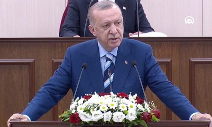 Erdoğan: Türkiye ile KKTC arasındaki ezeli kardeşliğimizi tüm dünyaya bir kez daha ilan ediyoruz