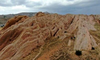 """Sivas'ın Eğribucak kayalıkları """"Dünyadaki Mars"""""""