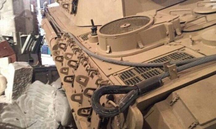 Evin bodrumundan tank çıktı
