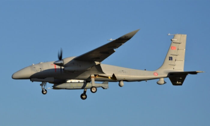 AKINCI TİHA'dan 1 tonun üzerinde yükle uzun mesafeli uçuş