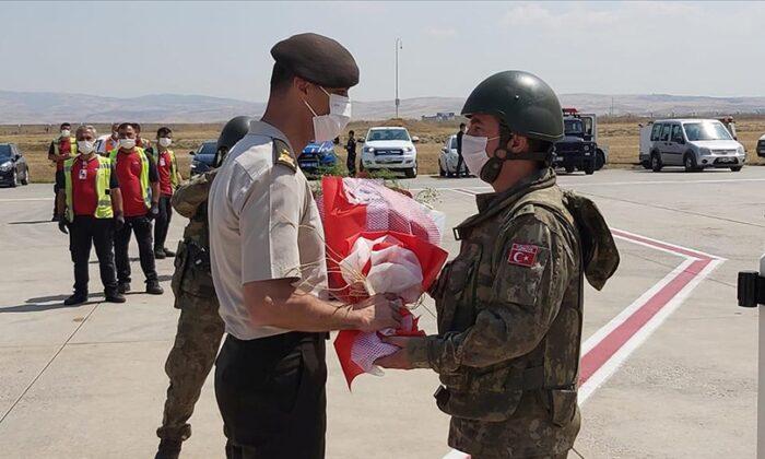 Afganistan görevini başarıyla yerine getiren TSK personelimizin tahliyeleri tamamlandı