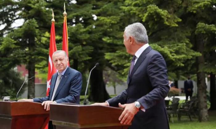 Cumhurbaşkanı Erdoğan Karadağ'da ticaret hedefini açıkladı