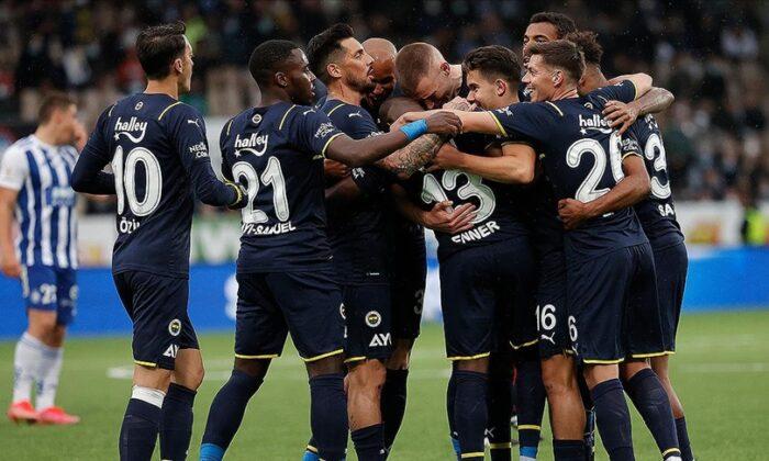 Fenerbahçe 5 Golle Ezdi Geçti