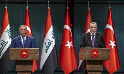 Cumhurbaşkanı Erdoğan, Irak Başbakanı Kazımi ile görüştü