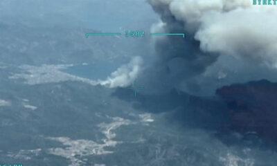 Mehmetçik, yangınla 3 koldan mücadele ediyor