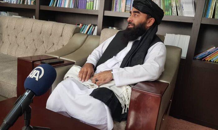 """Taliban Sözcüsü Zabihullah Mücahid AA'ya değerlendirmelerde bulundu: """"Türk halkı ve devletinden dostluk ilişlerini devam ettirmesini istiyoruz"""""""