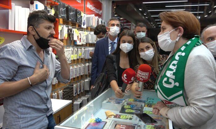 Samsunlu vatandaştan Akşener'e zor soru?