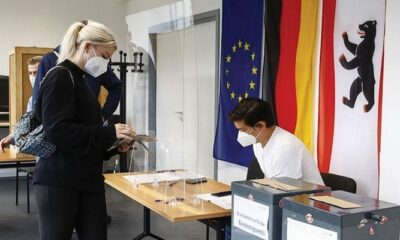 Almanya'da seçim yarışı… İlk sonuçlar açıklandı