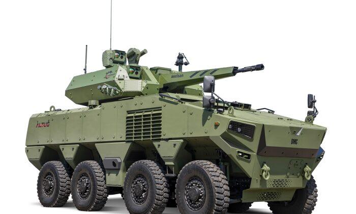 Türkiye'nin yeni zırhlı aracı BMC Altuğ 8×8 göreve hazırlanıyor